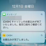CASH売れるもの売れないものは?査定仕組みは?売ってみたら即金だった。
