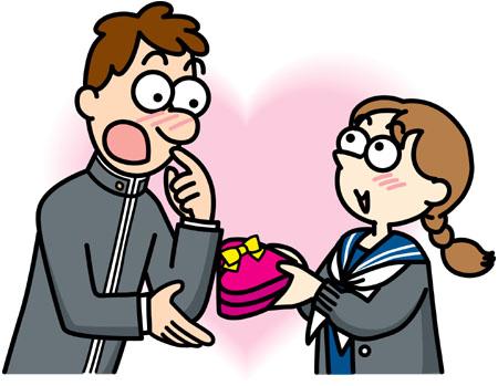 本命チョコ渡し方 学校で渡すタイミングと渡す時の言葉が超大事です。