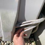 エアコン室外機の銅管むき出し!断熱材ボロボロなので自分で交換した。
