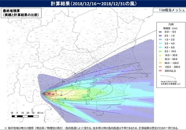 富士山が噴火したときの東京被害