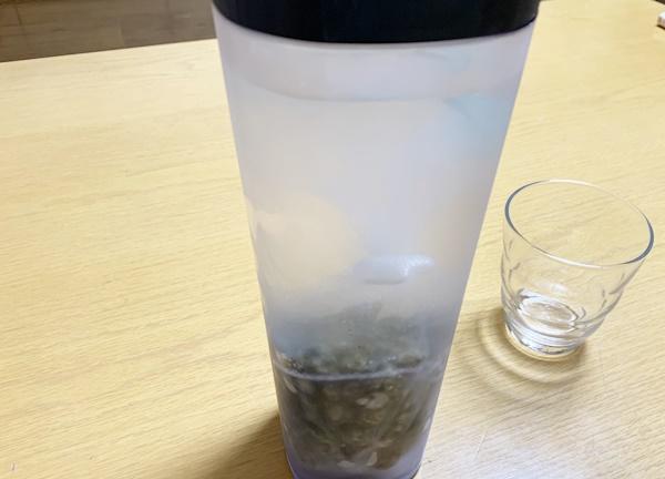 シリカ水 作ってみた