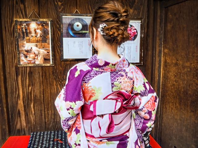 結婚式お呼ばれでアンティーク着物はあり?名古屋でレンタルできる店