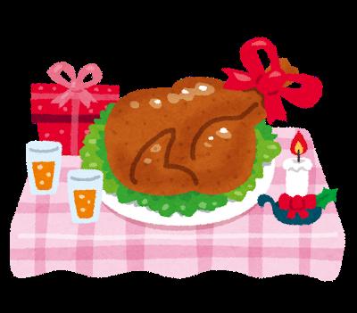 クリスマスに食べるチキンの名前の部位の名前解説!美味しい部位はココ