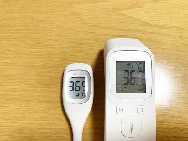中国製体温計 比較