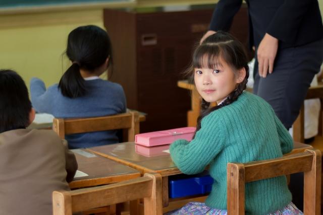 子どもの授業参観